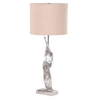 Sculptural table lamp