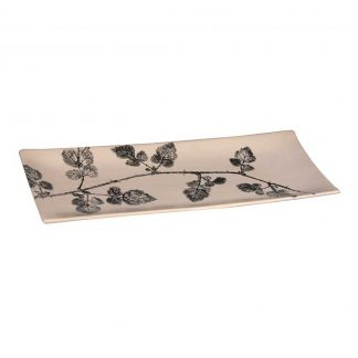 Decorative print platter