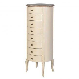 Dulton Cream chest of Drawers