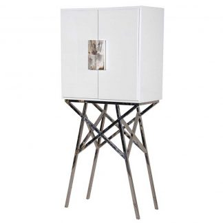 White stand cabinet