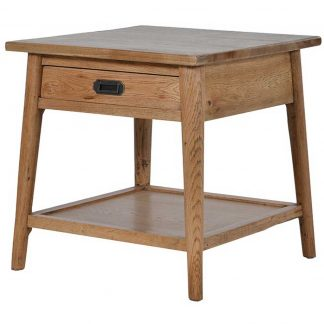 Oak Retro side table