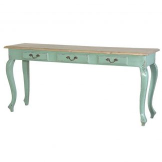 French painted dresser table