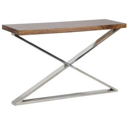 X-frame console table