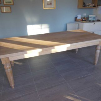 Victorian style oak dining table