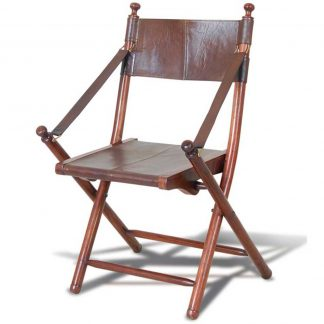 Livingstone leather chair