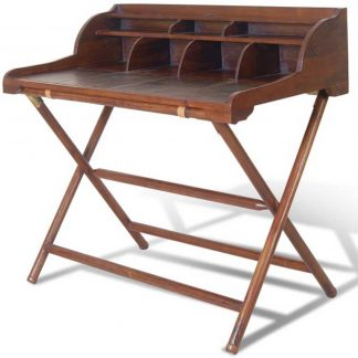 Livingstone leather writing desk